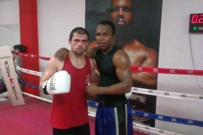 Andoni Gago tras entrenar con Nacho Mendoza esta misma semana en Bilbao.